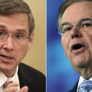 Mark Kirk and Robert Menendez